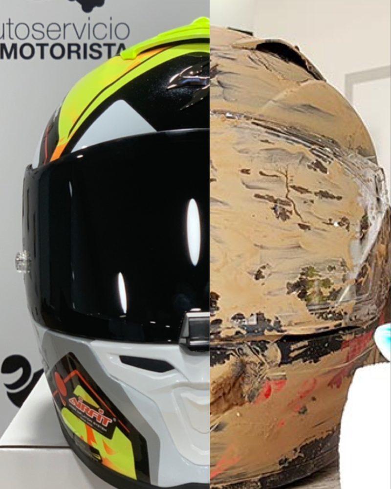 Consejos de limpieza para un casco de moto