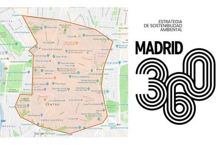 La moto en Madrid