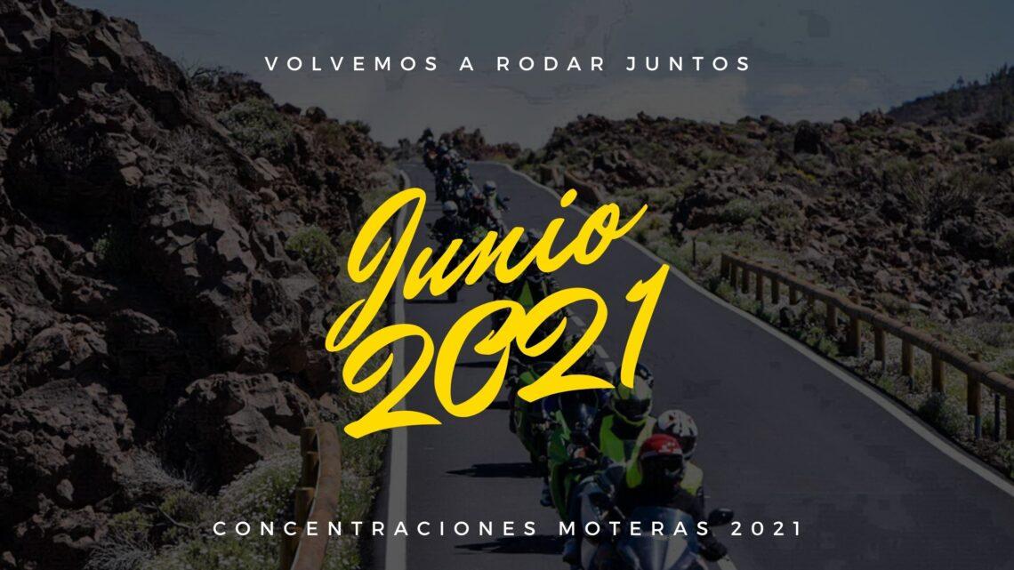 Concentraciones moteras Junio 2021