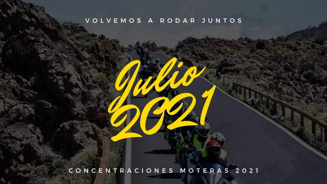 Concentraciones moteras Julio 2021