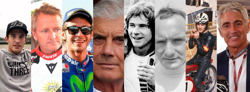 Los mejores pilotos de motos de la historia