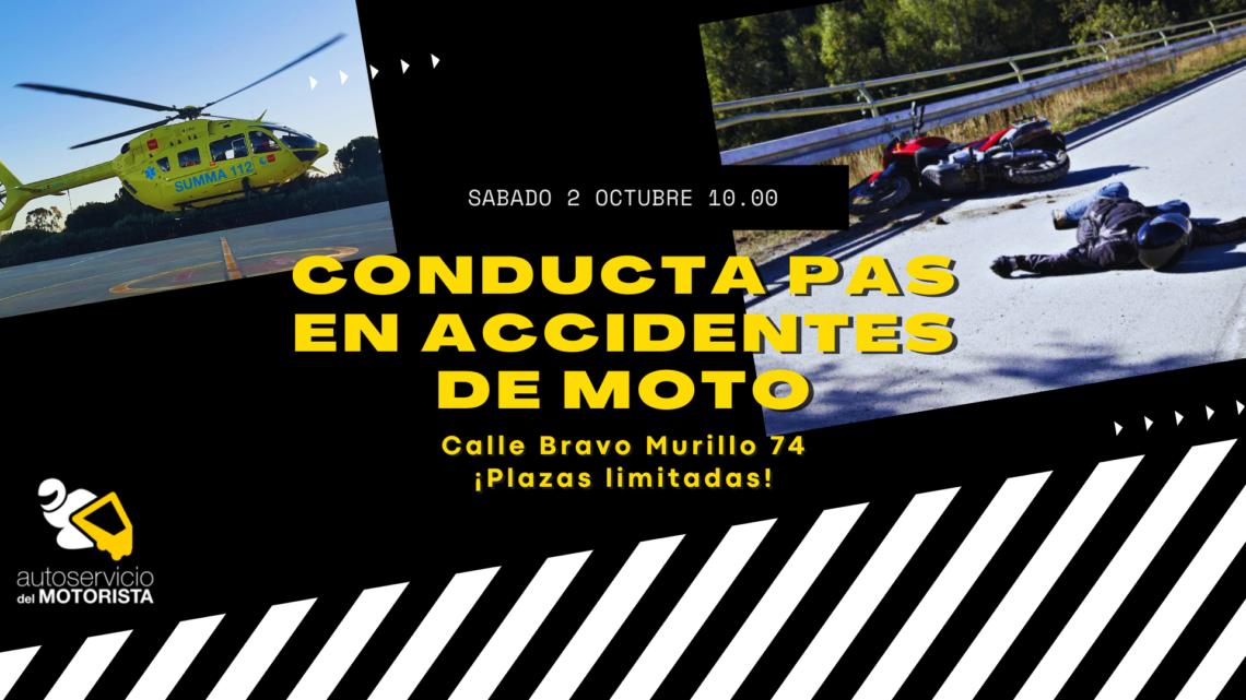 Conducta PAS en accidentes de moto