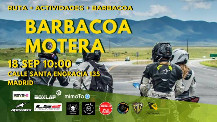 Barbacoa motera 18 de Septiembre 2021