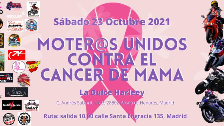 Moter@s unidos contra el cancer de mama – Madrid